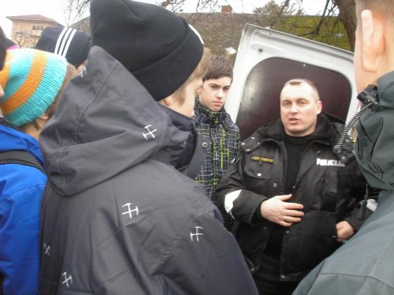 Interese par pašvaldības policijas darbu bija liela