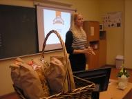 Linda Sīlīte stāsta par EKO nūdeļu biznesu