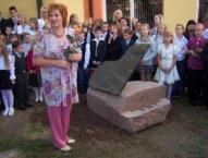 2008.gada 1.septembris -  A.Kerliņa veidotā akmens flīģeļa atklāšana